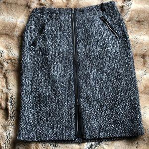Designer Armani Wool Skirt